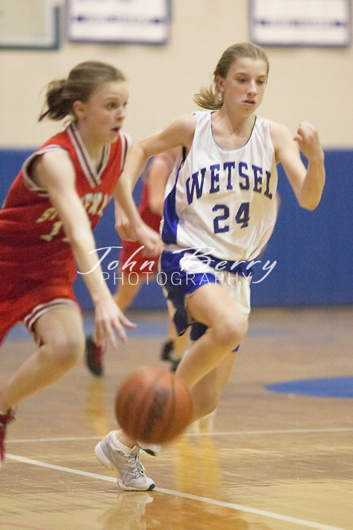 8th Grade Girls Basketball..Third Period..vs North Fork..December 2, 2004