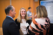 UW School of Medicine students present  research in the Hemmingson Center Ballroom on Oct. 24. (GU photo by Gavin Doremus)