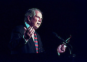 Pat Robertson speaks at the Road to Victory event at the Christian Coalition Conference September 19, 1998 in Washington, DC.