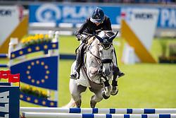 Le Jeune Vizzini Lucia, ITA, Cabalgaro Z<br /> CHIO Aachen 2019<br /> Weltfest des Pferdesports<br /> © Hippo Foto - Stefan Lafrentz<br /> Le Jeune Vizzini Lucia, ITA, Cabalgaro Z