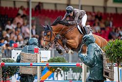SCHOORNBROODT-DE AZEVEDO Celine (BEL), G. La Numero Uno<br /> Münster - Turnier der Sieger 2019<br /> Preis des EINRICHTUNGSHAUS OSTERMANN, WITTEN<br /> CSI4* - Int. Jumping competition  (1.45 m) - <br /> 1. Qualifikation Mittlere Tour<br /> Medium Tour<br /> 02. August 2019<br /> © www.sportfotos-lafrentz.de/Stefan Lafrentz