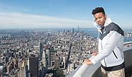 2017 NBA Draft Pick Markelle Fultz visits the Empire State Building - 20 June 2017