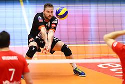 20160402 BEL: Volleybal: Volley Lindemans Asse Lennik - Noliko Maaseik, Zellik  <br />Dirk Sparidans