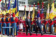 King Philippe and Queen Mathilde State visit Korea Commemorations