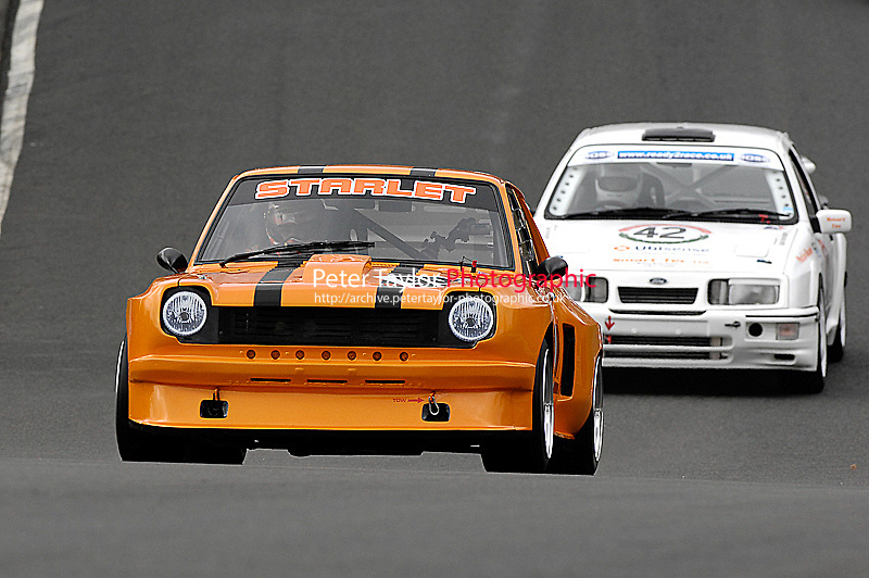 (99) - Andy Wilson - Toyota Starlet/2100..ImoressionsClassicThunderChampionship&BlueOvalSeries.Oulton Park, Cheshire, United Kingdom.  28th-March 2009.World Copyright: Peter Taylor/PSP