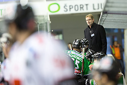 19.10.2013, Hala Tivoli, Ljubljana, SLO, EBEL, AUT, EBEL, HDD Telemach Olimpija Ljubljana vs HC TWK Innsbruck, 24. Runde, im Bild Ivo Jan, new head coach of HDD Telemach Olimpija // during the Erthe Bank Icehockey League 24 th round match between HDD Telemach Olimpija Ljubljana and HC TWK Innsbruck Hala Tivoli in Ljubljana, Slovenia on 2013/10/19. EXPA Pictures © 2013, PhotoCredit: EXPA/ Sportida/ Matic Klansek Velej<br /> <br /> *****ATTENTION - OUT of SLO*****