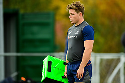 Michael Hooper during training  - Ryan Hiscott/JMP - 08/11/2018 - RUGBY - Llanwern High School - Newport, Wales - Australia Rugby Training Session