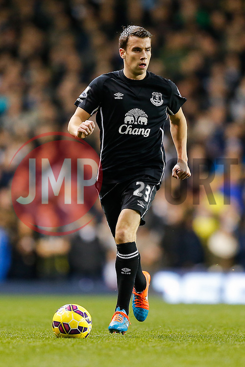 Seamus Coleman of Everton in action - Photo mandatory by-line: Rogan Thomson/JMP - 07966 386802 - 30/11/2014 - SPORT - FOOTBALL - London, England - White Hart Lane - Tottenham Hotspur v Everton - Barclays Premier League.