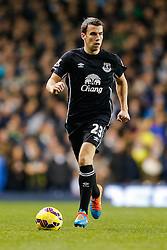 Seamus Coleman of Everton in action - Photo mandatory by-line: Rogan Thomson/JMP - 07966 386802 - 30/11/2014 - SPORT - FOOTBALL - London, England - White Hart Lane - Tottenham Hotspur v Everton - Barclays Premier League.