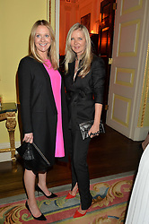 Left to right, KATE REARDON and AMANDA WAKELEY at the Tatler Best of British party in association with Jaegar held at The Ritz, Piccadilly, London on 28th April 2015.
