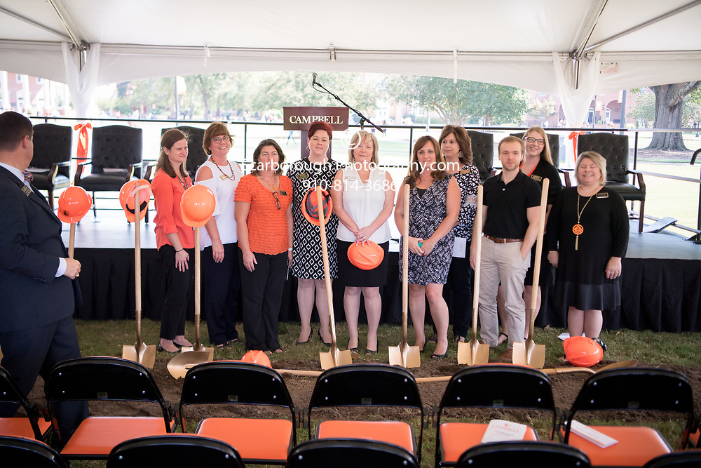 Admission Building ground breaking