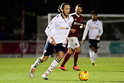 Bolton Wanderers defender (on loan from Rotherham United) Tom Thorpe (32) on the ball during the EFL Sky Bet League 1 match between Northampton Town and Bolton Wanderers at Sixfields Stadium, Northampton, England on 26 November 2016. Photo by Dennis Goodwin.