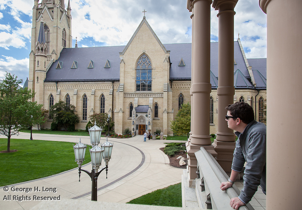 Stephen Dye at the University of Notre Dame