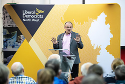 © Licensed to London News Pictures. 14/06/2019. Manchester, UK. ED DAVEY . The Liberal Democrat Party hold a leadership hustings at the St Thomas Centre in Ardwick , Manchester , between candidates Jo Swinson and Ed Davey . Photo credit: Joel Goodman/LNP