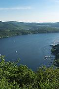 Blick auf Edersee, Nordhessen, Hessen, Deutschland | view of Lake Eder, Hesse, Germany