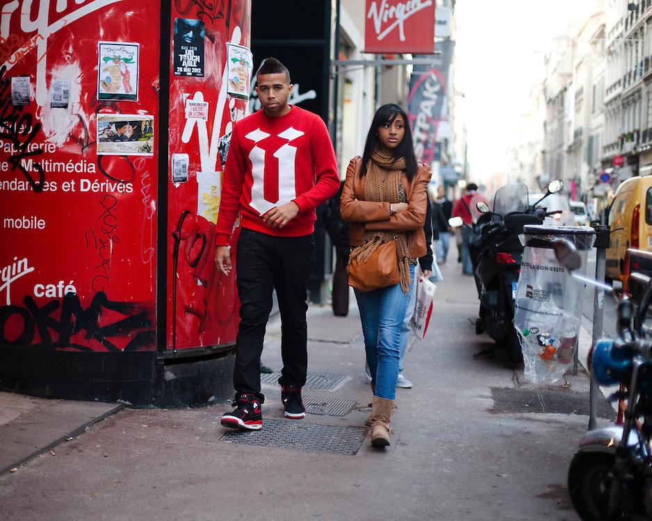 Promenade en amoureux Rue de Rome.