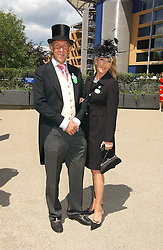 VISCOUNT & VISCOUNTESS DAVENTRY at the 3rd day - Ladies Day of Roayl Ascot 2006 on 22nd June 2006.<br />