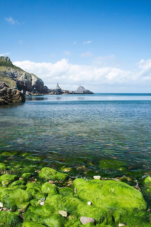 Babbacombe Bay, Devon, England