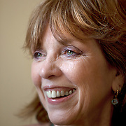 Best-selling author Nora Roberts at a book-signing lunch at Vesta Pizzeria  in historic Boonsboro, Maryland.