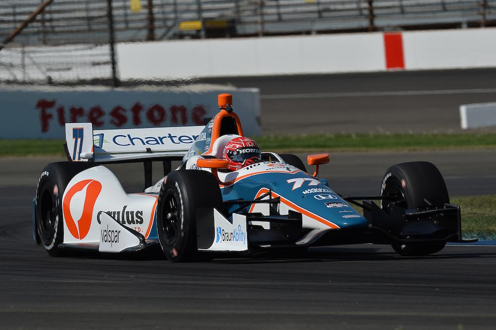 Simon Pagenaud, Grand Prix of Indianapolis, Indianapolis Motor Speedway, Indianapolis, IN USA 5/10/2014