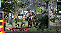 Rotorua-Occupants escape house fire