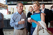JIM MARVER; HOLLY BAXTER, Brunch to celebrate the launch of Art HK 11. Miss Yip Chinese Cafe. Meridian ave,  Miami Beach. 3 December 2010. -DO NOT ARCHIVE-© Copyright Photograph by Dafydd Jones. 248 Clapham Rd. London SW9 0PZ. Tel 0207 820 0771. www.dafjones.com.