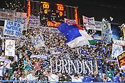 DESCRIZIONE : Brindisi Lega A 2014-15 Enel Brindisi  Dolomiti Energia Trento<br /> GIOCATORE : Tifosi<br /> CATEGORIA :  Tifosi<br /> SQUADRA : Enel Brindisi<br /> EVENTO : Campionato Lega A 2014-15 GARA : Enel Brindisi Dolomiti Energia Trento<br /> DATA : 02/11/2014  <br /> SPORT : Pallacanestro <br /> AUTORE : Agenzia Ciamillo-Castoria/V.Tasco <br /> Galleria : Lega Basket A 2014-2015 Fotonotizia : Brindisi Lega A 2014-15 Enel Brindisi Dolomiti Energia Trento  <br /> Predefinita :