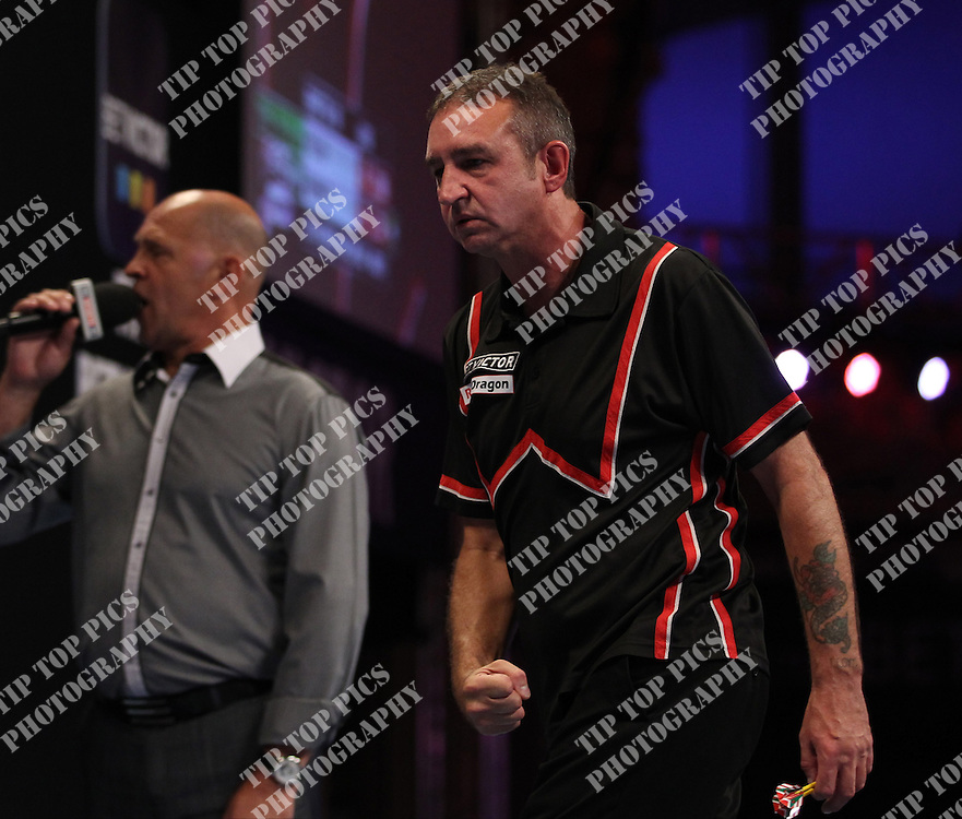 PDC WORLD MATCHPLAY 2014,RICHIE BURNETT<br /> PIC CHRIS SARGEANT,<br /> TIPTOPPICS