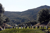 15 December 2007: Fans walk the course during the third round of the ninth annual Target World Challenge golf tournament presented by the Tiger Woods Foundation at Sherwood Country Club in Thousand Oaks Westlake Village in Southern California.