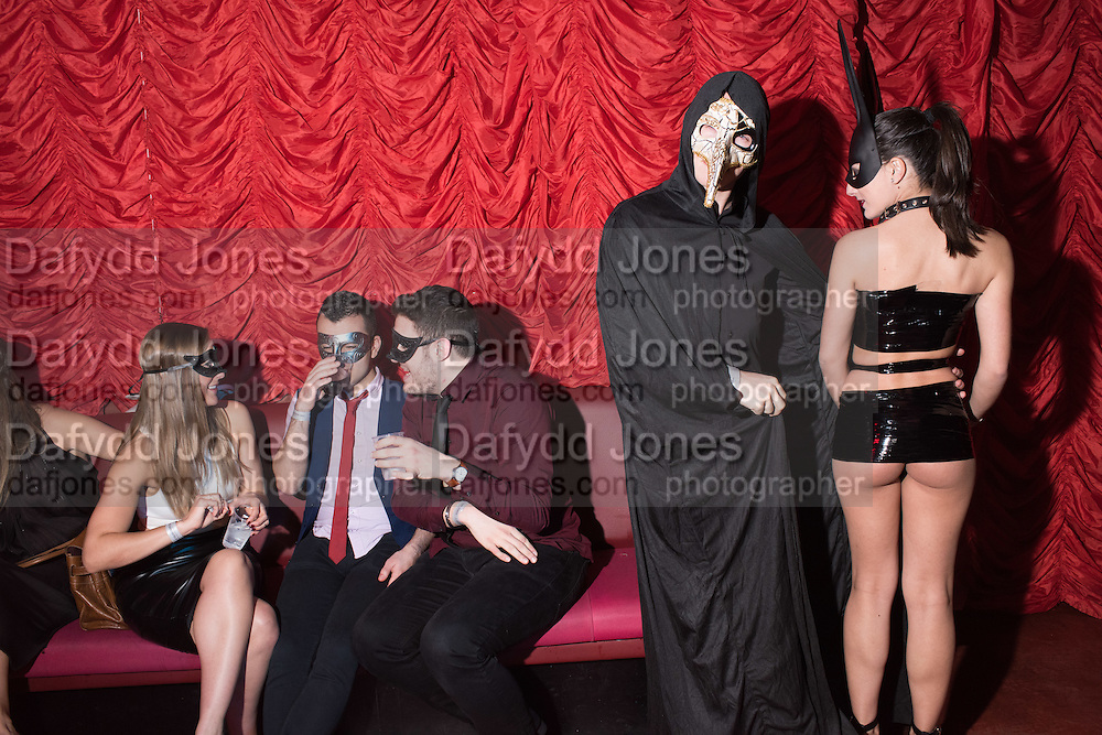 LOST HEARTS , A VALENTINE'S MASQUERADE BALL 2016 at the Coronet Theatre,  Elephant and Castle, London. 12th February 2016