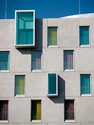 The modern new  Art Hotel in Rheinauhafen district of Cologne Germany