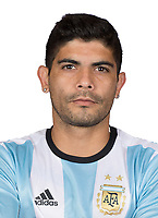 Conmebol - World Cup Fifa Russia 2018 Qualifier / <br /> Argentina National Team - Preview Set - <br /> Ever Banega