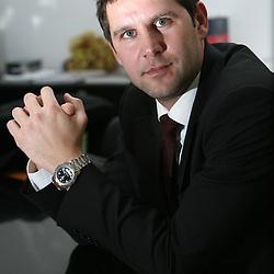 20080218: Handball - Portrait of Tomaz Jersic