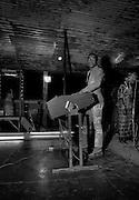 Fela Kuti in concert at the Shrine club - Lagos - 1978