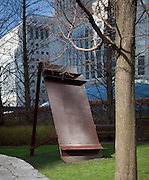 anthony caro exhibition, canary wharf, london, england, uk, art, artist, metal, steel, sculpture