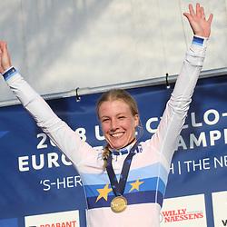 04-11-2018: Wielrennen: EK veldrijden: Rosmalen<br />Annemarie Worst pakt de Europese titel in het veld