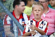 01-08-2015 VOETBAL: WILLEM II - SIVASSPOR:TILBURG<br /> Vriendschappelijke wedstrijd van Willem II op de Koningsdag 2015<br /> <br /> Jonge Willem II supporter<br /> <br /> Foto: Geert van Erven