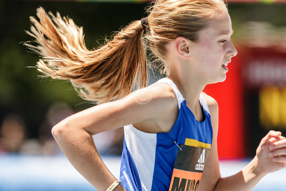 adidas Grand Prix Diamond League Track & Field: Girls Youth Mile, Siena Muccini