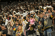 during the 5th game of their NHL playoff series  at the T-Mobile Arena Friday, May 4, 2018, in Las Vegas.