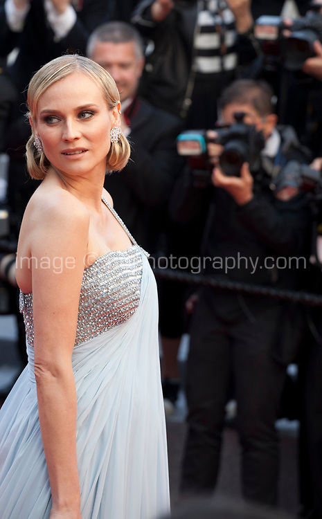 Actress Diane Kruger at the Le Grand Bain (Sink Or Swim) gala screening at the 71st Cannes Film Festival, Sunday 13th May 2018, Cannes, France. Photo credit: Doreen Kennedy