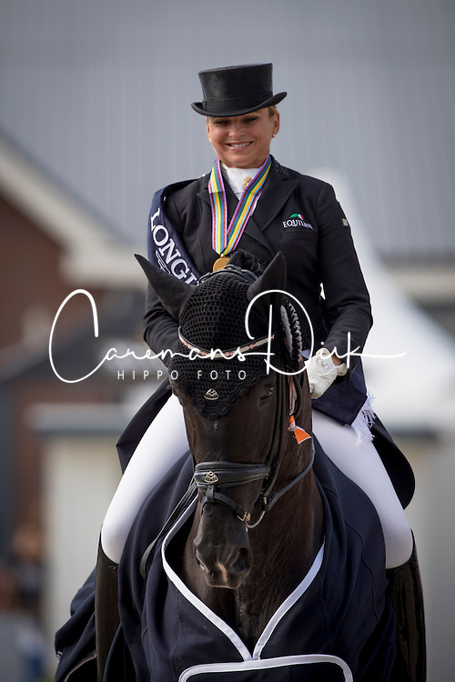 Schneider Dorothee, GER, Sezuan<br /> Final 7 years of age<br /> World Championship Young Dressage Horses <br /> Ermelo 2016<br /> © Hippo Foto - Dirk Caremans<br /> 31/07/16