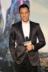 Cast member Wang Xueqi attends a promotional event of Hollywood superhero movie Iron Man 3 before its release in China in early May, in Beijing, capital of China, April 6, 2013. Photo by Imago / i-Images...UK ONLY.