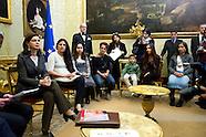 Mrs Laura Boldrini meets Romani association 21 Luglio