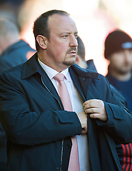 LIVERPOOL, ENGLAND - Saturday, January 30, 2010: Liverpool's manager Rafael Benitez during the Premiership match against Bolton Wanderers at Anfield. (Photo by: David Rawcliffe/Propaganda)
