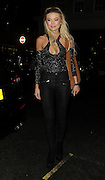 Georgia Toffolo at Lipsy London party, which took place at Nobu in Mayfair on Wednesday<br /> ©Exclusivepix Media