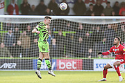 Forest Green Rovers Kevin Dawson(18) on the ball during the EFL Sky Bet League 2 match between Forest Green Rovers and Walsall at the New Lawn, Forest Green, United Kingdom on 8 February 2020.