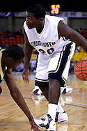 26 November 2005: MU freshman forward, Tyson Johnson (20), in the Monmouth University 54-62 loss to Oral Roberts University at the Great Alaska Shootout in Anchorage, Alaska