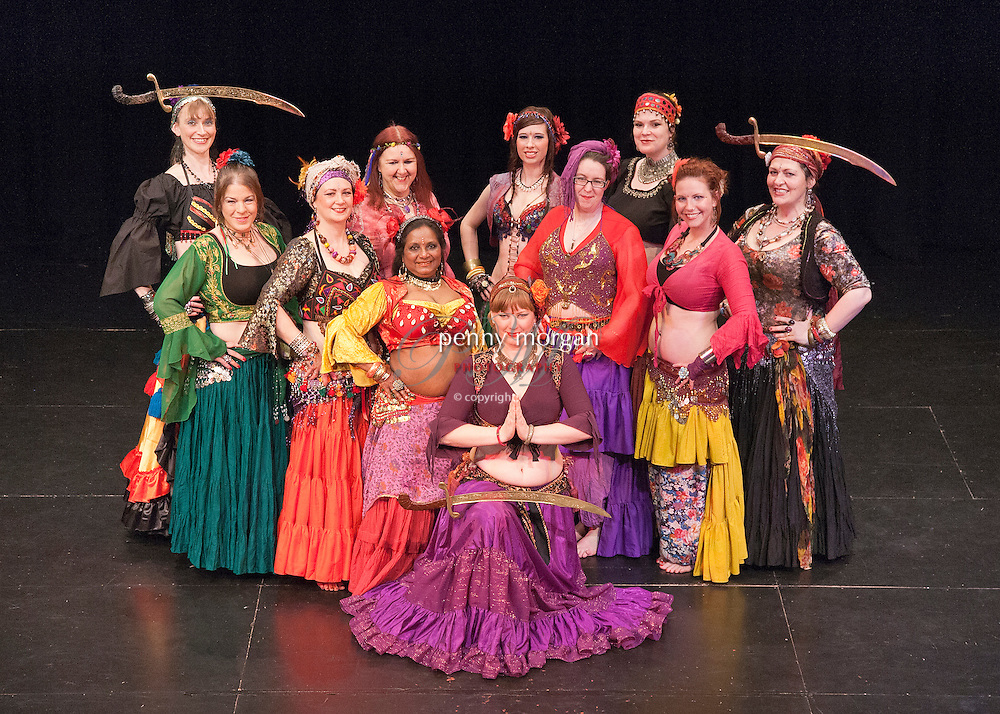 East Anglian Bellydance Superstars charity performance