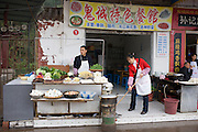 Snack catering at Fengdu, China