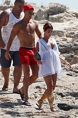 Formentera: Cristiano Ronaldo on holiday - 11 July 2017